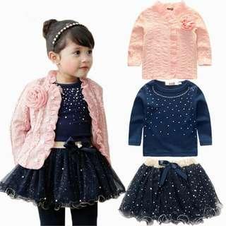 Girl Dress 3in1