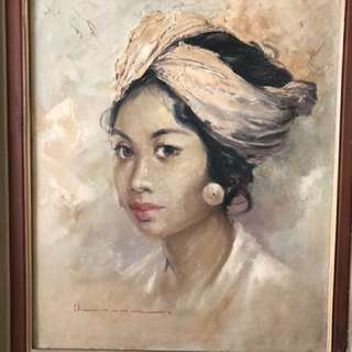 Painting by the Late Soekarno