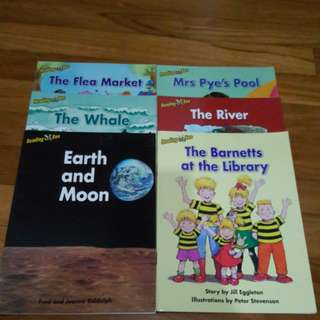 K2 English and Chinese reader books