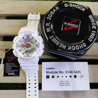 G-SHOCK (All White Model)
