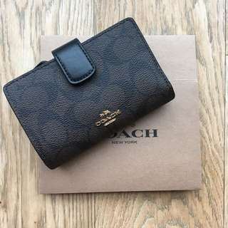 [ready-stock] Coach coin and billfold wallet