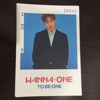 Wanna One Ha Sungwon Postcard