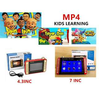MP4 KIDS LEARNING / MEMORY CARD KIDS