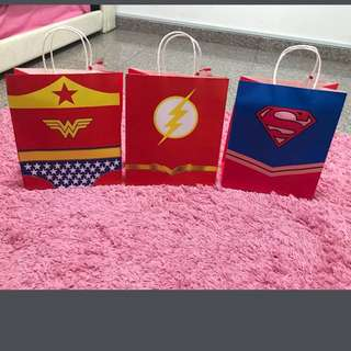 Justice League Goody Bags!!