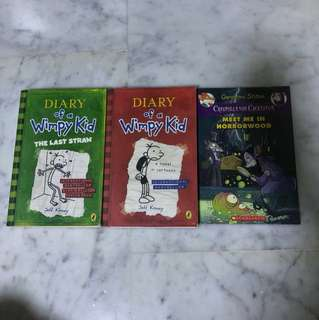 Diary Of A Wimpy Kid & Geronimo Stilton
