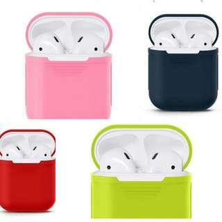 Airpods silicon  case Free Strap