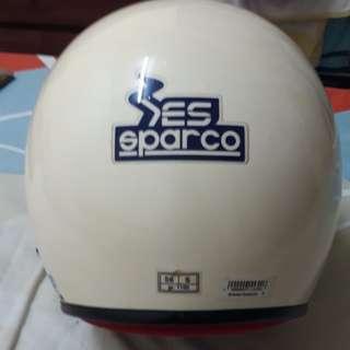 Sparco racing helmet