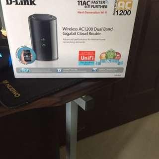 D Link Wireless AC1200 DualBand Gigabit Cloud Router