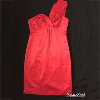 Red Cocktail Dress- Free Shipping