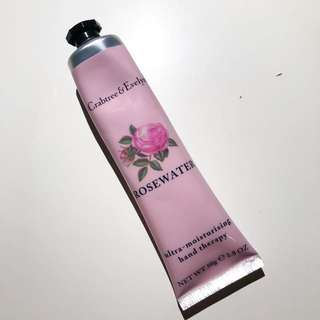 Crabtree evelyn rosewater handcream