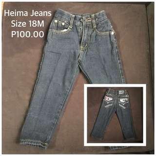 Toddler Denim Jeans Pants