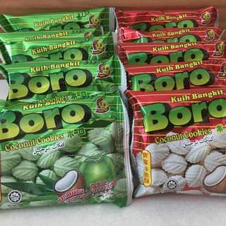 Boro Coconut Biscuit