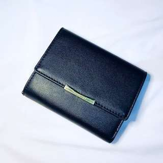 Miniso Black And Gold Wallet