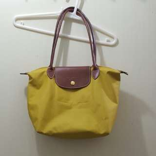 Longchamp Yellow Le Pliage