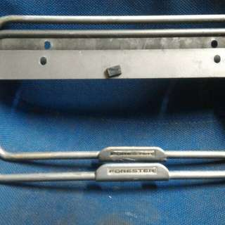 Frame Plate Subaru Forester Aluminium Rare Model