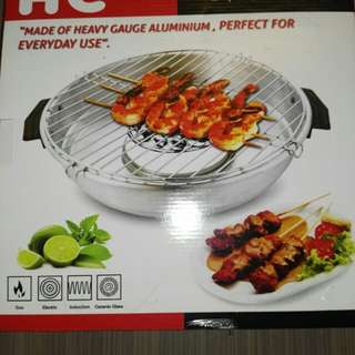 Fancy grill/Alat panggang serbaguna yg bisa merubah nyala api menjadi bara