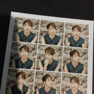 BTS Jin I Need U HYYH Pt.1 (Photocard)