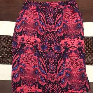 LZD batik Pink Skirt