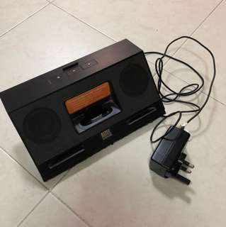 Portable speaker for iPhone 4 or old iPod