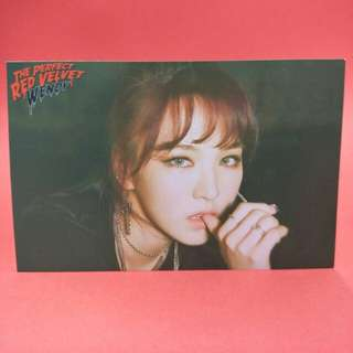 Wendy Photo Perfect Velvet Bad Boy