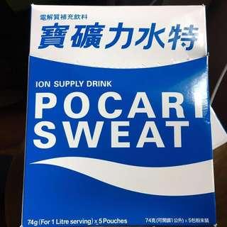 寶礦力水特 Pocari Sweat 電解質補充飲料 一盒(74g x 5包)