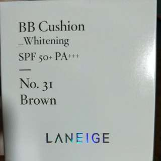 Laneige BB Cushion Whitening no.31