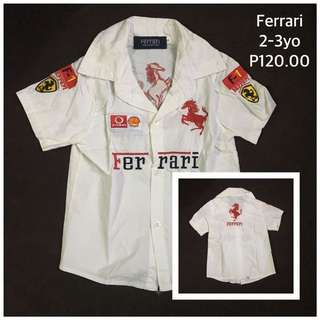 Ferrari Polo Toddler