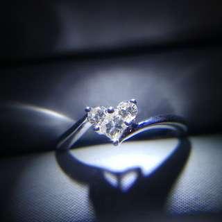 18K鑽石拼石戒指