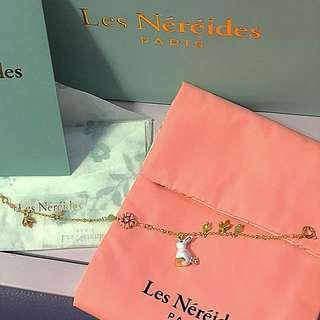 Les Nereids - rabbit bracelet
