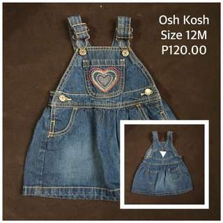 Osh Kosh Baby Jumper Skirt