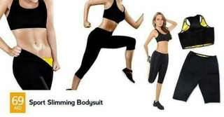 Sports slimming bodysuit