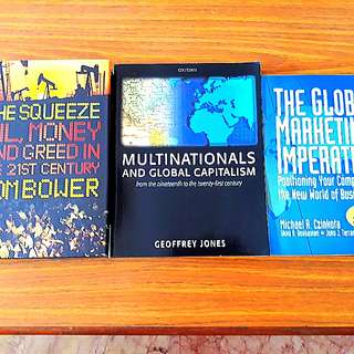 3 for $15: The Squeeze, Multinationals and Global Capitalism, The Global Marketing Imperative