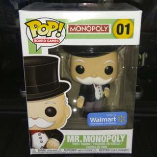 [PRE-ORDER] Mr. Monopoly Uncle Pennybags Funko Pop