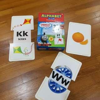 Alphabet, phonics, my body interactive flash cards