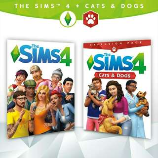 The Sims 4 Deluxe Edition With DVD Offline ( All DLCs Expansion, Game & Stuff )