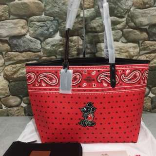 Coach mickey bag