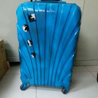 4 Wheels Luggage Size H 24inch W 15inch