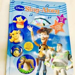 Disney Sing-Along Lyric Book Set