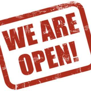 WE ARE OPEN!!!!