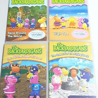 Pre-Loved The Backyardigans DVDs x4
