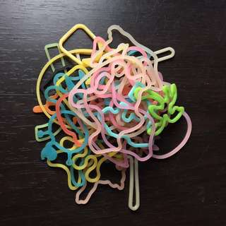 Glow in the dark crazy bands
