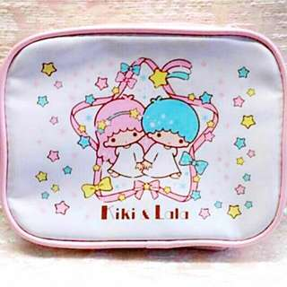 Sanrio 絕版 Little Twin Stars 公仔 化妝袋