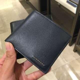Burberry 男裝銀包 man wallet 散銀