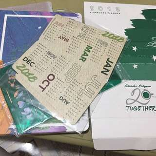 STARBUCKS PLANNER w/o card
