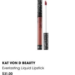 KAT VON D BEAUTY Everlasting Liquid Lipstick Lolita