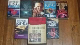 Stephen king bundle (8books)
