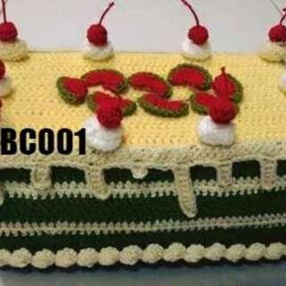 Handmade Tissue Cover Crochet