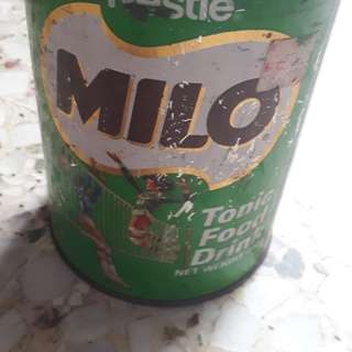 Vintage MILO 400 Grams Tonic Food Drink TIN , Nestle SINGAPORE