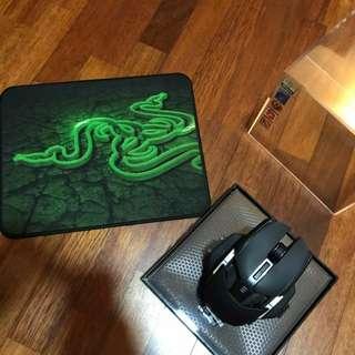 Razer mouse & mouse pad