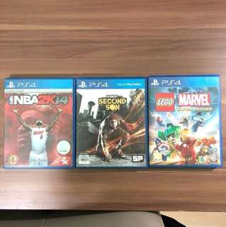 PS4 GAMES STEAL PRICE